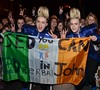 Jedward Celebrities outside the RTE Studios for 'The Late Late Show' Dublin, Ireland