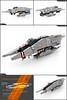 Ultaran Escort Destroyer (Pierre E Fieschi) Tags: art lego pierre space destroyer micro spaceship fi concept frigate sci starship microspace vaisseau fieschi microscale microspacetopia