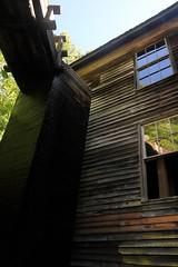 Penstock (Cyclingrelf) Tags: tower mill wooden indian pipe cherokee mingus turbine reservation indianreservation penstock mingusmill cherokeeindian oconaluftee