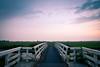 Dusk (Aurel L) Tags: bridge light sunset long exposure dusk low den hague zoetermeer pont brug haag stompwijk