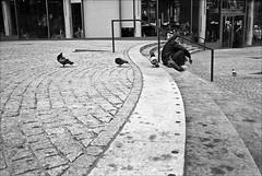 berlin...streets (andrealinss) Tags: street leica blackandwhite bw berlin analog germany kodak streetphotography schwarzweiss mitte friedrichstrasse leicam6 kodak400tmax berlinstreet streetfotografie andrealinss