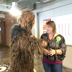 What a wookie!