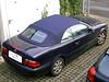 11 Mercedes CLK W208 mit kobaltblauem Verdeck 01
