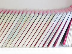 Landranger (Claire Wroe) Tags: pink white manchester map library maps central os shelf plastic survey borrow ordnance landranger cmwd