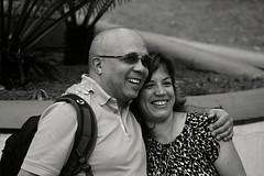 (Aaron Montilla) Tags: portrait bw byn sunglasses retrato venezuela fineart caracas firstclass fallinginlove enamorados 2014 gafasdesol firstquality aaronmontilla