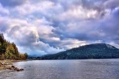 09-24-2016-Drama on the water (Valerie Sauve-Vancouver) Tags: catesparknorthvancouverbc clouds creation drama water views burrardinlet northvancouverbc nikon