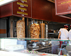 Athens, Greece (erinsamm8) Tags: athens athensgreece greece europe contikitour contiki plaka gyro gyros