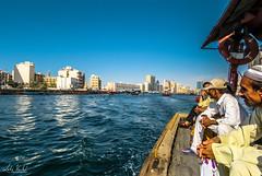 Dubai Souk Market by boat (lvertel) Tags: dubai souk market canon sx60 photography amateur beautiful boat people river