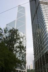Pair (michael_ip) Tags: architecture buildings hongkong central tall bankofchina cheungkongcenter