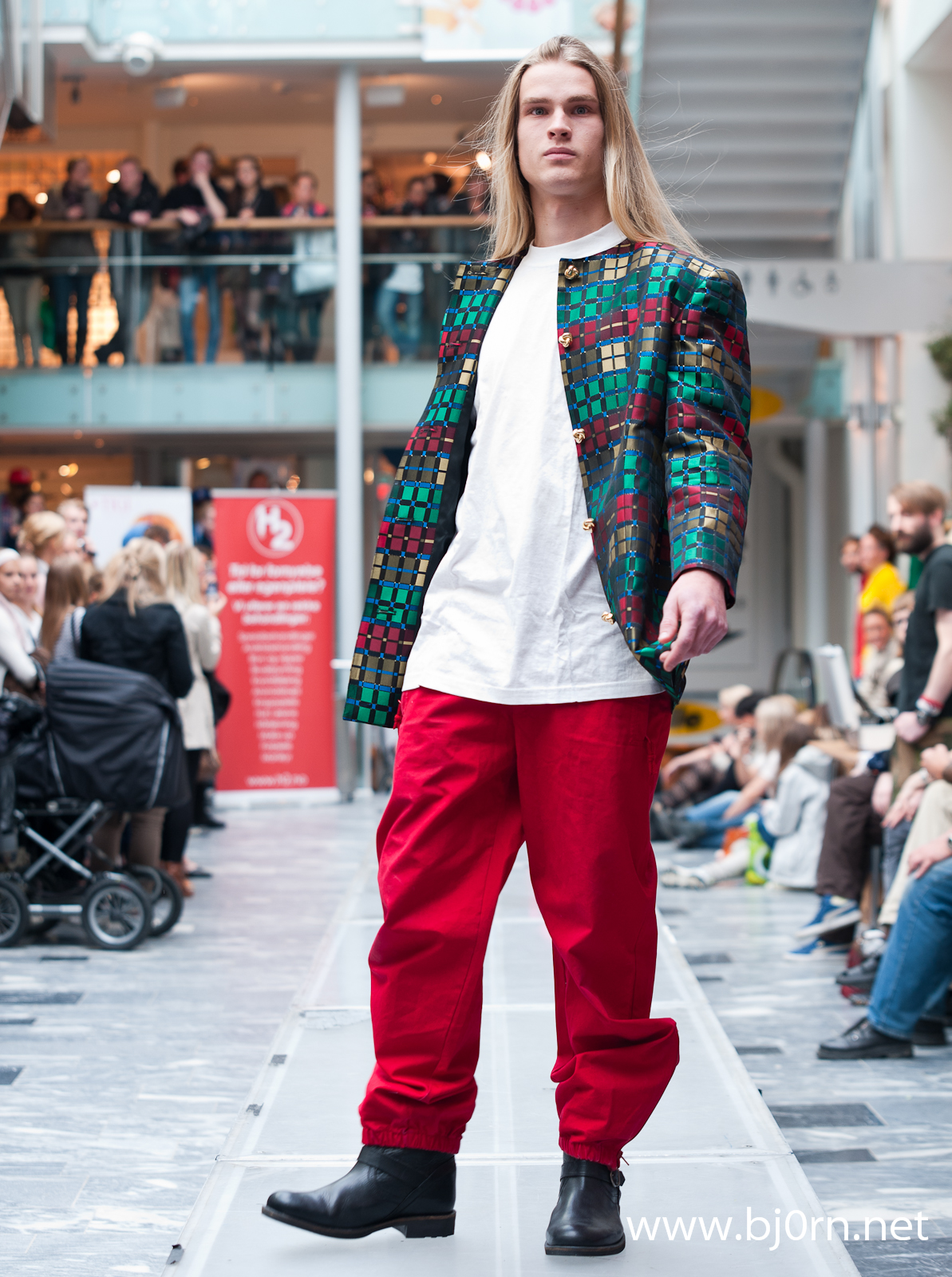 photo: Bjørn Christiansen, Fretex Unika Fashion Show at Mercursenteret