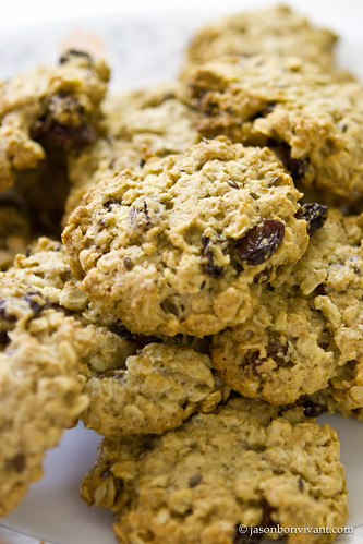 Oatmeal & Raisins Cookies