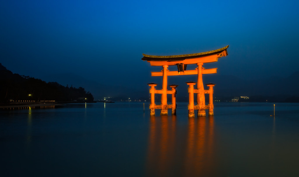 Big Torii Blue Hour