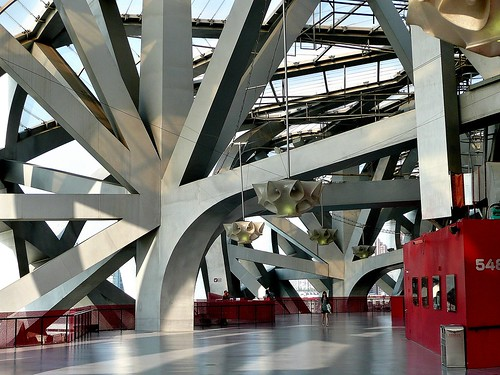 Beijing Olympic Stadium - Interior Superstructure