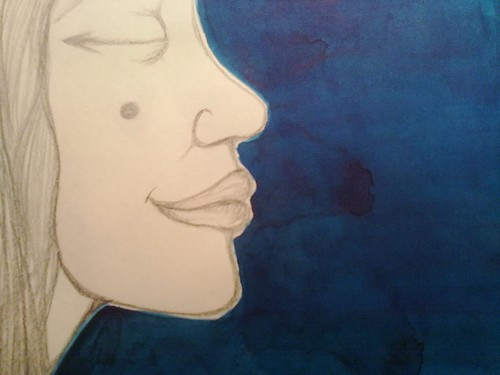 :: deep blue on progress by mariana.belem