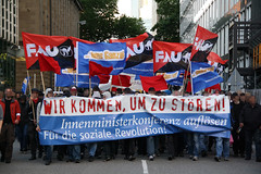 Demonstration gegen die Innenministerkonferenz am 22.06.2011 in Frankfurt/Main