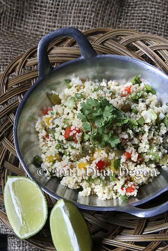 Couscous salad ala Dian.:-)