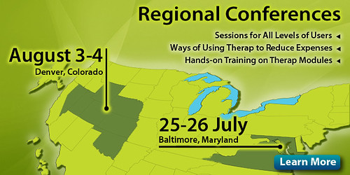 Therap Regional Conferences for Developmental Disability Organizations