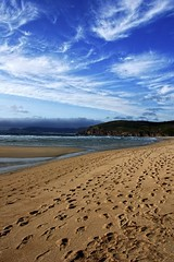 NUESTRAS HUELLAS - Our Footprint (Antonio Mesa Latorre) Tags: beach face footprints playa galicia rostro huellas bestcapturesaoi ringexcellence