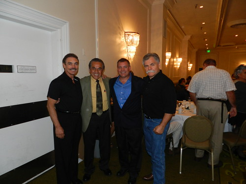 Rocky Burke, Mando Muniz, Louie Burke and Randy De La O