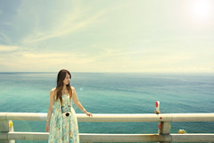 11 (nodie26) Tags: ocean life blue sea portrait people water girl tour taiwan oceans  hualien        greeb                11