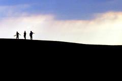 (Awaiting September) Tags: silhouette northcarolina kittyhawk sandsunes