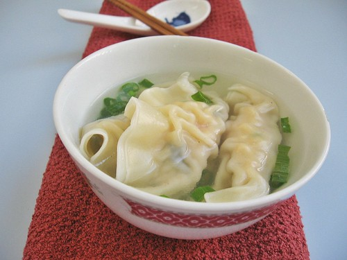 Dumpling Sui Kow Soup, 水饺汤 ~ Teczcape-An Escape to Food