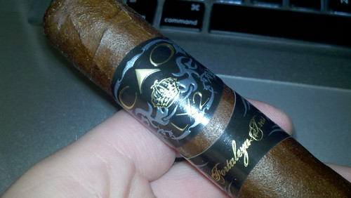 Smoking a Big Ol' Fat @caocigars LX2 (60 Ring variety from last years IPCPR)