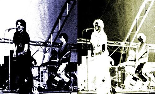 U2 1981 - in black and white