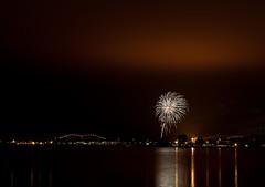 Canada Day (Andreane Fraser) Tags: canon fireworks celebration canadaday saultstemarie internationalbridge july1st 5dmarkii