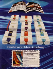 EMBASSY (old school paul) Tags: vintage ads embassy smoking cigarettes tobacco 1976 adverts