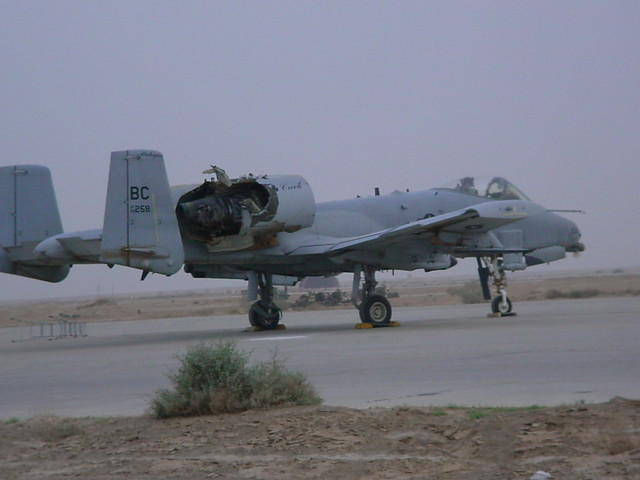 A10 Warthog Damage | www.pixshark.com - Images Galleries ...