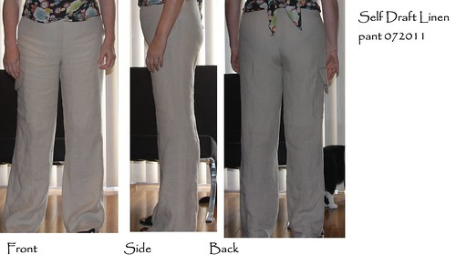 Self draft linen pant 072011