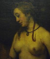 at bath rembrandt her Bathsheba
