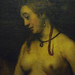 Rembrandt, Bathsheba at Her Bath with detail of bust