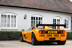 Papaya. (Alex Penfold) Tags: auto camera uk england orange english cars alex sports car sport festival mobile race speed canon photography eos photo cool flickr bright image awesome flash wing picture papaya super f1 spot exotic photograph mclaren spotted hyper lm fos supercar goodwood spotting numberplate exotica sportscar sportscars supercars gtr penfold m66 spotter 2011 mcl hypercar 60d hypercars alexpenfold m66mcl