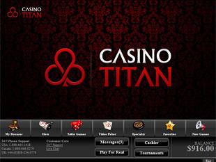 Casino Titan Lobby