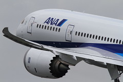 BOEING787 Dreamliner   ---Its maiden flight to Japan--- (Teruhide Tomori) Tags: japan airplane ana aircraft flight airline boeing jetplane 787 maidenflight  dreamliner   osakainternationalairport boeing787 boeing787dreamliner rollsroycetrent1000 srov