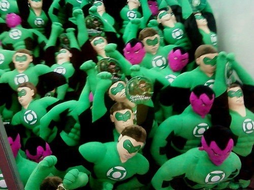 Green Lantern and Sinestro prizes