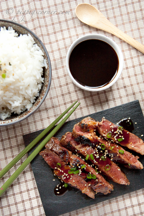 Beef Teriyaki Steak