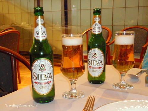Silva Pils Beer Romania
