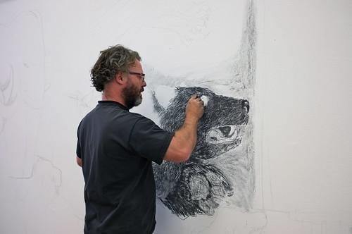 Artist Pete Codling