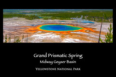 Grand Prismatic Spring Poster (Jim Dollar) Tags: jim dollar posters yellowstonenationalpark wy grandprismaticspring