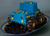 Monster Truck Birthday (sewfearless) Tags: birthday boy cake monstertruck