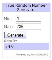 winner random