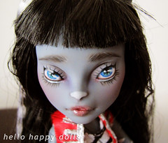 piccover (Hellohappylisa) Tags: hello cute monster cat ball happy for high twins doll ebay sweet sale auction adorable kawaii bjd custom jointed repaint purrsephone meowlody