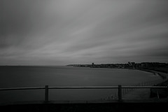 Storm brewing (mussy5) Tags: storm coast clouds skyline sky seafront sea blackandwhite longexposure infrared westgate kent canon550d canonefs1022mmf3545usm smusgrove2012
