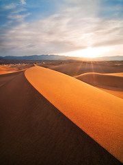 Morning Ramble (Michael Bollino) Tags: california morning travel light landscapes nationalpark desert dunes dune yo springbreak deathvalley embrace sanddunes