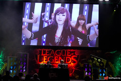 League and K-Pop