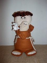 Santo Antonio (Mrcia Alves Gonalves de Lima) Tags: boneco feltro antonio santo