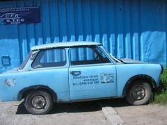 Trabant 601 S (Retroautok) Tags: blue azul blauw blu s bleu romania blau azzurro trabant 601 kk romnia